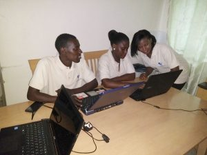USEP youth designing WAS project
